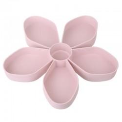 Blütenblattförmiges Snackbox-Tablett - drehbar - Lebensmittellagerung
