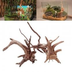 Naturalny pień drzewa driftwood - akwariowa roślina - drewniana dekoracja