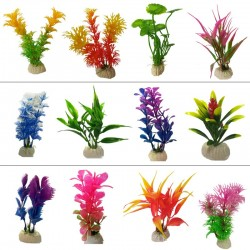 Aquarium artificial plastic plant - decorative grass