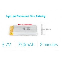 JJRC H12C Battery 3.7V 750mah 20C Quadcopter Drone