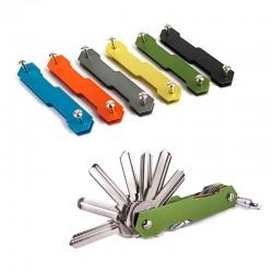 Porta llaves - clip de aluminio - organizador - llavero - llavero
