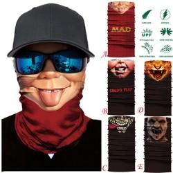 Motocyklowy szalik z czaszką - maska na twarz - kominiarka