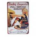 Full Service Metal Sign Poster