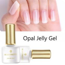 Opal jelly - lakier do paznokci - biały żel do paznokci UV 6 ml